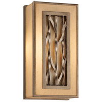 Serengeti 2 Light 7 inch Bronze Leaf ADA Wall Sconce Wall Light in Incandescent