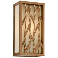 Troy Lighting Serengeti 1 Light Outdoor Wall in Painted Bronze Leaf B3162