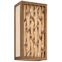 Troy Lighting Serengeti 2 Light Outdoor Wall in Painted Bronze Leaf B3163