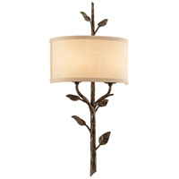 Troy Lighting B3182 Almont 2 Light 12 inch Bronze Leaf Wall Sconce Wall Light