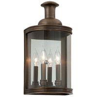 Pullman 2 Light 17 inch English Bronze Outdoor Wall
