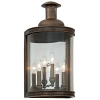 Troy Lighting Pullman 3 Light Outdoor Wall in English Bronze B3193