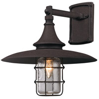 Allegany 1 Light 13 inch Centennial Rust Outdoor Wall