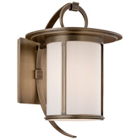 Troy Lighting Wright 1 Light Outdoor Wall in Antique Brass B3242