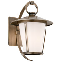 Troy Lighting Rennie 1 Light Outdoor Wall in Antique Brass B3252