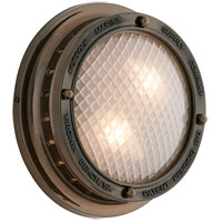 Troy Lighting Norfolk 2 Light Outdoor Wall in Centennial Rust B3262