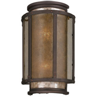 Troy Lighting Copper Mountain 2 Light Outdoor Wall in Bronze B3273