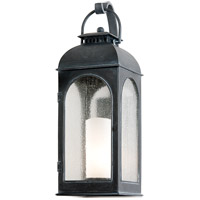 Derby 1 Light 29 inch Antique Iron Outdoor Wall in Incandescent