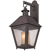 Troy Lighting Sagamore 1 Light Outdoor Wall in Centennial Rust B3293