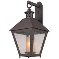 Sagamore 1 Light 27 inch Centennial Rust Outdoor Wall in Incandescent