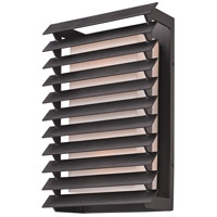 Troy Lighting Shutters 2 Light Outdoor Wall in Forged Iron B3303 photo thumbnail