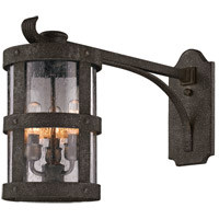 Barbosa 3 Light 15 inch Barbosa Bronze Outdoor Wall in Incandescent