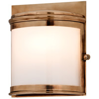 Troy Lighting Rotterdam 2 Light Outdoor Wall in Aged Brass B3322