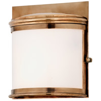 Troy Lighting Rotterdam 2 Light Outdoor Wall in Aged Brass B3323