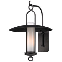 Carmel 1 Light 22 inch Graphite Outdoor Wall