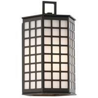 Troy Lighting Cameron 1 Light Outdoor Wall in Bronze with Coastal Finish B3411-C