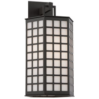 Troy Lighting Cameron 1 Light Outdoor Wall in Bronze with Coastal Finish B3412-C