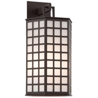 Troy Lighting Cameron 3 Light Outdoor Wall in Bronze with Coastal Finish B3413-C