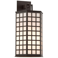 Troy Lighting Cameron 4 Light Outdoor Wall in Bronze with Coastal Finish B3414-C