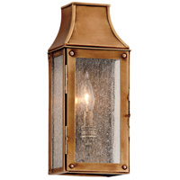 Troy Lighting Beacon Hill 1 Light Outdoor Wall in Heirloom Brass B3420