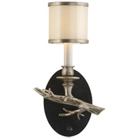 Drift 1 Light 8 inch Bronze With Silver Leaf Wall Sconce Wall Light in Left