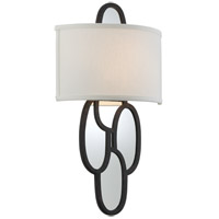Troy Lighting Chime 2 Light Wall Sconce in Charred Copper B3472