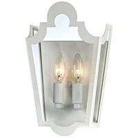Troy Lighting Rhodes 2 Light Wall Sconce in White B3482