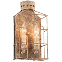 Jasper 2 Light 8 inch Coastal Rust Wall Sconce Wall Light