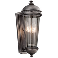 Troy Lighting Ambassador 3 Light Outdoor Wall Lantern in Aged Pewter B3562