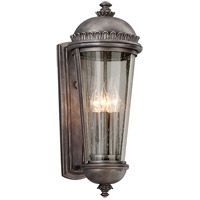 Ambassador 4 Light 22 inch Aged Pewter Outdoor Wall Lantern