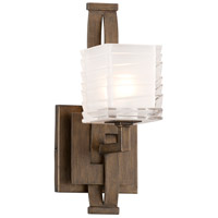Troy Lighting Jensen 1 Light Bath Light in Danish Bronze B3581