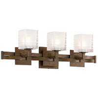 Troy Lighting Jensen 3 Light Bath Light in Danish Bronze B3583