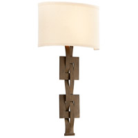 Troy Lighting Jensen 2 Light Wall Sconce in Danish Bronze B3585