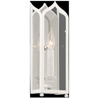 Troy Lighting York 1 Light Wall Sconce in White B3611