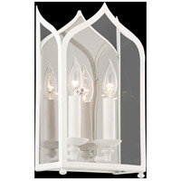 York 2 Light 8 inch White Wall Sconce Wall Light
