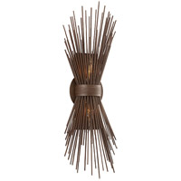 Troy Lighting Uni 2 Light Wall Sconce in Tidepool Bronze B3661