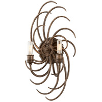 Troy Lighting Revolution 2 Light Wall Sconce in Revolution Bronze B3672