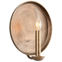 Troy Lighting Taj 1 Light Wall Sconce in Antique Brass B3702
