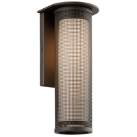Troy Lighting BF3743BZ-C Hive 1 Light 17 inch Bronze with Coastal Finish Outdoor Wall Sconce in Fluorescent