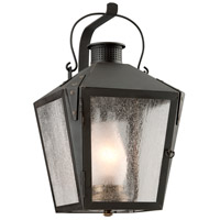 Nantucket 1 Light 18 inch Charred Iron Outdoor Wall Lantern in Incandescent