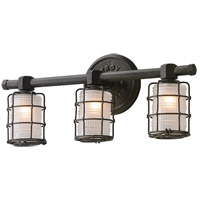 Mercantile 3 Light 20 inch Vintage Bronze Bath Vanity Wall Light