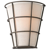 Troy Lighting Habitat 1 Light Wall Sconce in Liberty Rust B3901