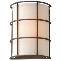 Troy Lighting Haven 1 Light Wall Sconce in Liberty Rust B3911