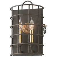 Troy Lighting Latitude 2 Light Wall Sconce in Liberty Rust B3932