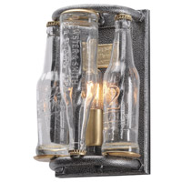 Troy Lighting 121 Main 1 Light Wall Sconce in Old Silver with Brass B3941