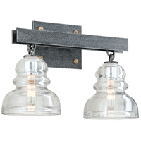 Troy Lighting B3952 Menlo Park 2 Light 15 inch Old Silver Bath Vanity Wall Light  photo thumbnail