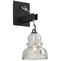 Menlo Park 1 Light 6 inch Deep Bronze Wall Sconce Wall Light