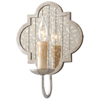 Troy Lighting Gramercy 1 Light Wall Sconce in Silver Leaf B3981