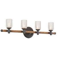 Troy Lighting B4154 Embarcadero 4 Light 32 inch Bath Vanity Wall Light photo thumbnail