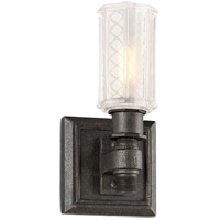 Troy Lighting Vault 1 Light Bath Vanity in Aged Pewter B4231